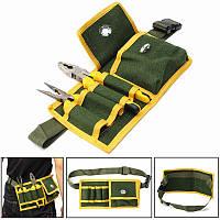 Многофункциональный сумка для инструментов держатель сумка электрика талии пакет ремень работа сумка