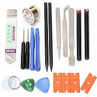 Пластиковые открывалка отверток смартфон ремонт инструменты Nylon 19 в 1 инструмент монтировку набор открытия spudger пинцетом