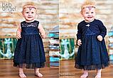 Нарядное платье  для маленькой девочки тм Baby Angel р-ры 74,80, фото 3
