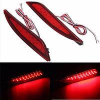 2pcs 25 LED s красный задний задний фонарь LED бампер тормоз остановка идущий для Hyundai соната восьмую 11-14