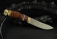 """Нож для охоты ручной работы """"Охотничий пёс Мастиф"""", N690 (наличие уточняйте)"""