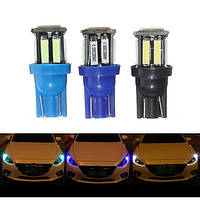 1.6W 300LM T10 W5W LED Сторожевая лампа Light Headlamp Fog Driving Bulb