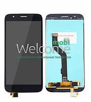 Дисплей (экран) + сенсор (тач скрин) Huawei Ascend G8 (RIO-L01), GX8 black (оригинал)