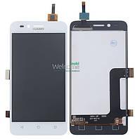 Дисплей (экран) + сенсор (тач скрин) Huawei Y3 II (LUA-L21) 4G white