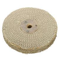 6 дюймов 150x20mm сизаля ткань полировка колеса полировки инструмент