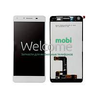 Дисплей (экран) + сенсор (тач скрин) Huawei Y5 II (CUN-U29), Honor 5, Honor Play 5 white
