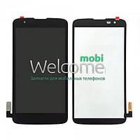 Дисплей (экран) + сенсор (тач скрин) LG MS330 K7, Tribute 5 LS675 black