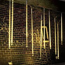 50см 10tubes 540 LED метеоритный ливень дождь свет рождества Xmas дерево декор с водителем ес штекером, фото 3