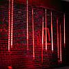 50см 10tubes 540 LED метеоритный ливень дождь свет рождества Xmas дерево декор с водителем ес штекером, фото 4