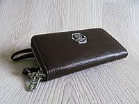 Модный кошелёк Philipp Plein экокожа