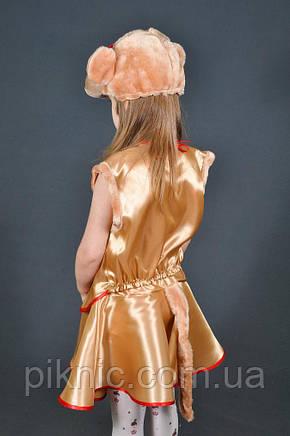 Детский карнавальный костюм Обезьяна для девочки 5-7 лет. маскарадный костюм Мавпа, фото 2