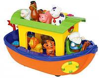 Игровой набор НОЕВ КОВЧЕГ (на колесах, озвуч. укр. яз.) Kiddieland preschool (031881)