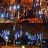 10tubes 30см 300 LED метеоритный дождь дождь свет Рождественские декор Xmas Tree с водителем штепсельной вилкой США, фото 5