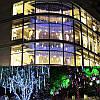 10tubes 30см 300 LED метеоритный дождь дождь свет Рождественские декор Xmas Tree с водителем штепсельной вилкой США, фото 6