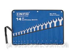 Набор комбинированных ключей 14 пред. 10-32 мм INFO 9141