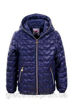 Детская демисезонная куртка для девочек Glo-story