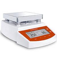 MS400 цифровой горячей плиты магнитная мешалка 2L емкость 400 ℃ регулируемая температура нагрева и выбрать время перемешивания