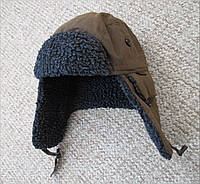BARBOUR шапка вощеная waxed ушанка ОРИГИНАЛ (S) Сост.ИДЕАЛ