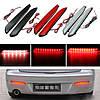 2 штук LED задний бампер указатель поворота свет тормоз хвост прекратит работу лампы для Mazda 3 2010-2013