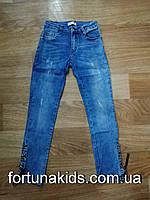 Джинсовые брюки для девочек Lemon tree 8-16 лет