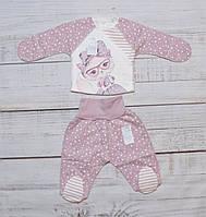 Ползунки и распашонка для новорожденных ТМ Ля-Ля