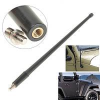 Черный 13-дюймовый сигнал антенны FM AM антенна для Jeep Wrangler Jk 07-16