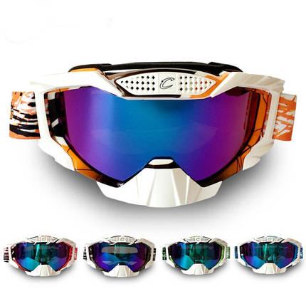 Мотоцикл ветрозащитной анти-борьба лыжные очки восхождение пыленепроницаемом очки, фото 2