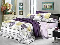 Двуспальный набор постельного белья 180*220 из Полиэстера №232 Черешенка™
