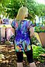 Женский костюм туника+бриджи (46-60) 8132, фото 2