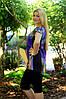 Женский костюм туника+бриджи (46-60) 8132, фото 3