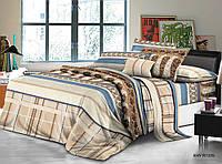 Двуспальный набор постельного белья 180*220 из Полиэстера №234 Черешенка™