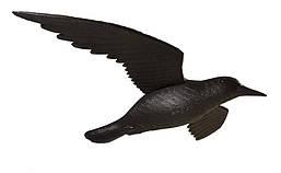 """Отпугиватель птиц """"Муляж Ворон в полете — Защита от голубей"""""""