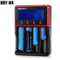 HXY-h4 ЖК-дисплей смарт-зарядное устройство для LiFePO4/литий-ионный/Ni-MH/NiCd