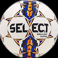 Футбольный мяч Select Brillant Super Бел./Син./Оранж., фото 1