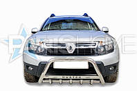 Кенгурятник с логотипом Renault Duster