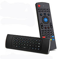 MX3 2.4G беспроводной Шесть Ось волчка Клавиатура дистанционного управления Air Mouse ИК обучения