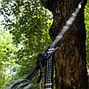 2 штук регулируемое дерево висит гамак ремень веревка расширение подвеска полоса связывания, фото 2