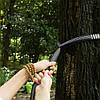 2 штук регулируемое дерево висит гамак ремень веревка расширение подвеска полоса связывания, фото 3