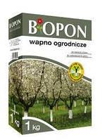 Известь Biopon для побелки деревьев и раскисления почвы 1 кг