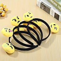 12 штук Emoji Face Ears Headbrands Black Party Смайлики Костюмский подарок на день рождения