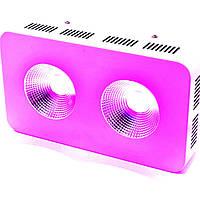 LED фитопанель СOB 200W(2x100W)