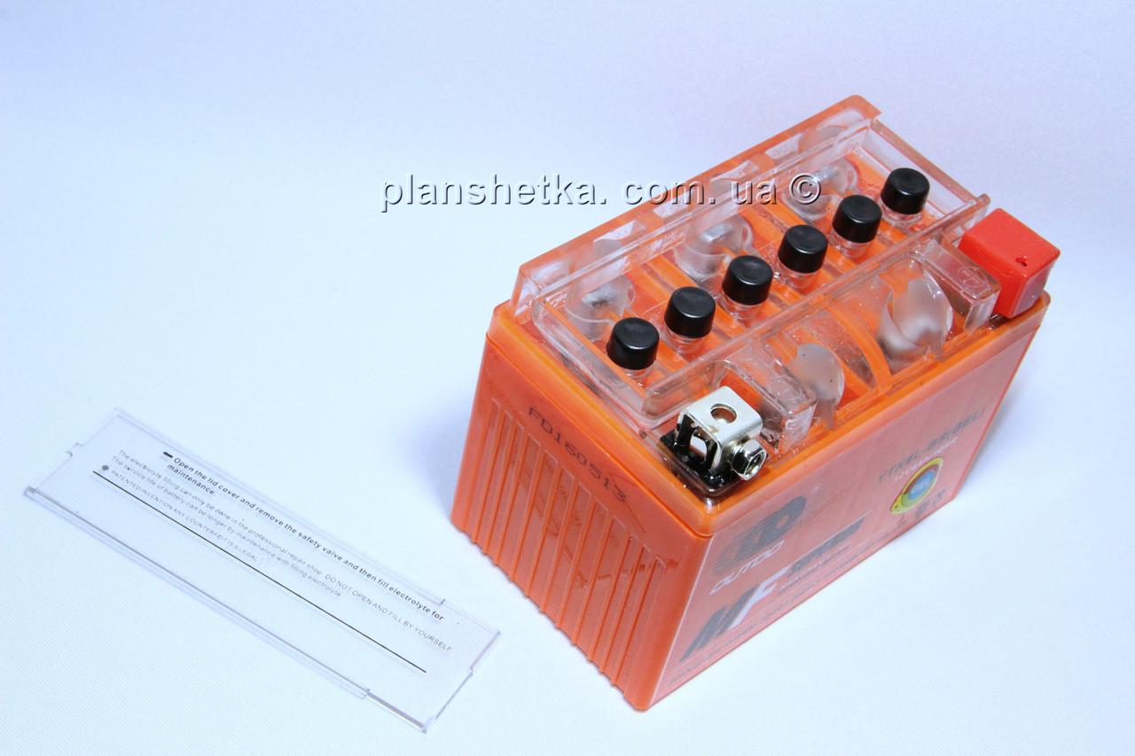 Аккумулятор гелевый 12В 4А  качеств оранжевый GEL