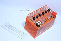 Аккумулятор гелевый 12В 4А  качеств оранжевый GEL , фото 1