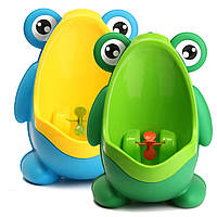 Дети мальчик ванной комнаты горшочки детей раннего образования Trainning лягушки горшочки съемная писсуара