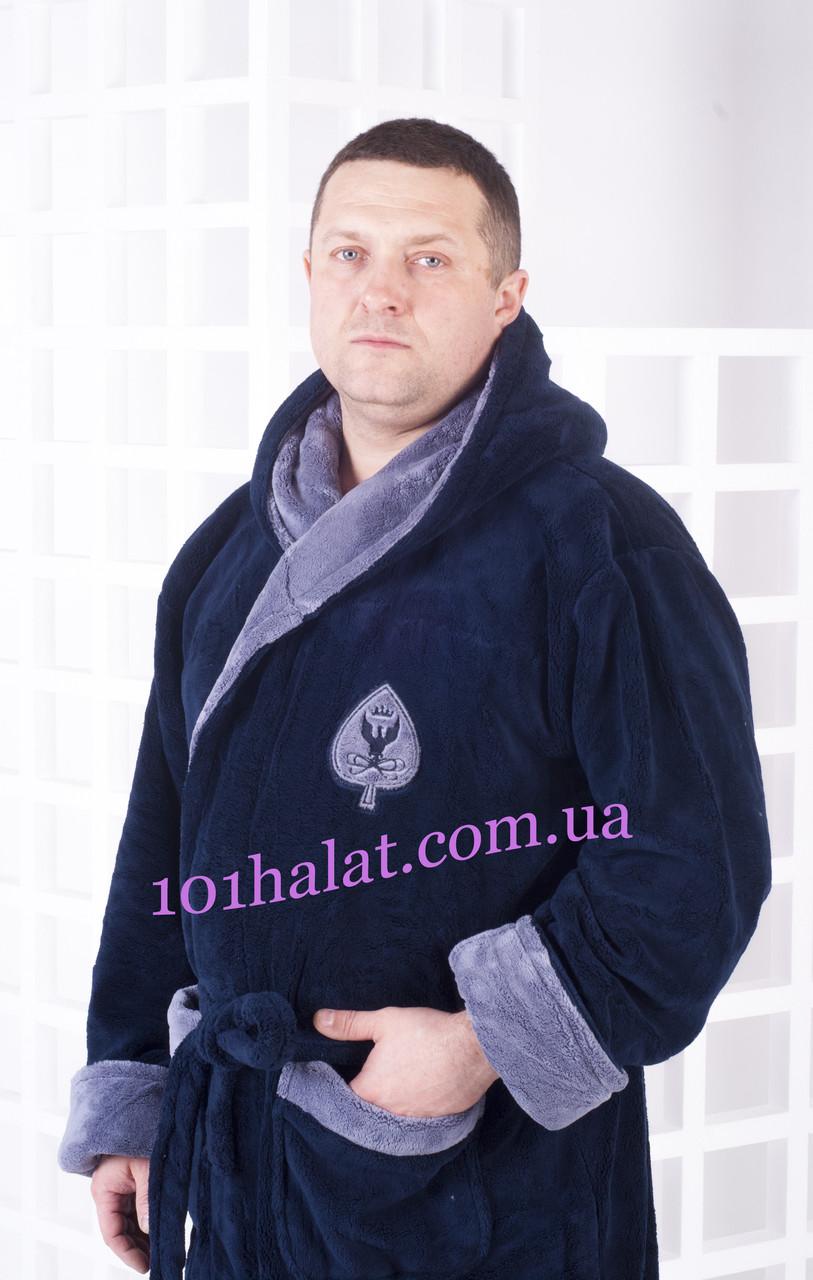 e1c55358e86b Халат мужской тёплый с капюшоном размер 56-58-60 купить в Харькове ...