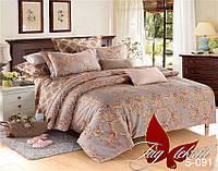 Комплект постельного белья сатин евро TM Tag 0915