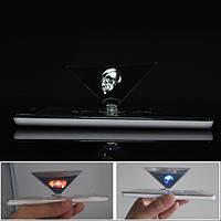 3D голографические проекции вспомогательный инструмент пирамиды поделок творческие подарки от 3.5 до 6.0 дюймов смартфон