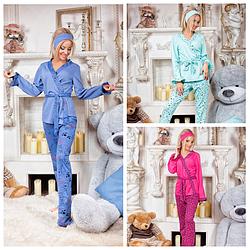 Трикотажный домашний костюм - пижама