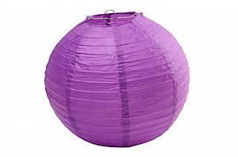 Бумажный подвесной шар фиолетовый, 45 см