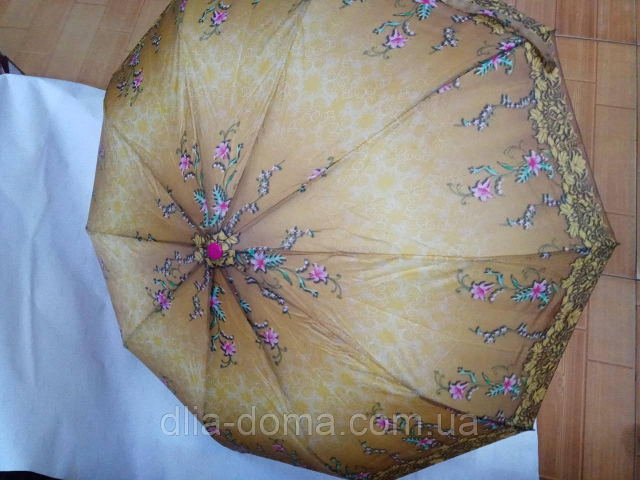 Зонты женские 3 сложения